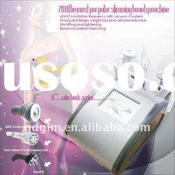 ultrasound bed cellulite reduction+ RF facial beauty equipment