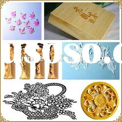 wood/paper/plastics crafts and arts laser engraving machine for sale