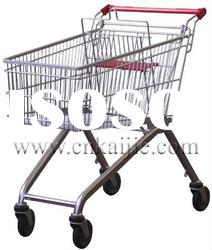 100L best selling supermarket grocery shopping carts