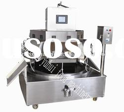 12 nozzles rotary fruit juice bag filling sealing machine