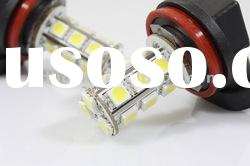 18 SMD 5050 LED H11 REPLACEMENT BULB WHITE LAMP LED BRIGHT FOG LIGHTS