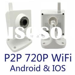 1.3MP 720P H.264 motion detection P2P wireless IP camera