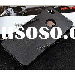 2012, Aluminum Chrome Deluxe Case For iPhone 4 4S, Cover Customize Logo for iphone