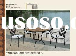 2012 Metal outdoor furniture,garden furniture table and chairs set