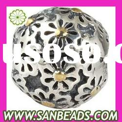 2012 Top Sell Newest Design Jewelry Beads 925 Sterling Silver Clip Beads Wholesale