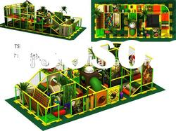 2012 newly design kids soft play areaTQ-TSL310 interesting indoor play equipment