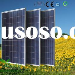 205W POLY Solar Panel, with High efficiency 3 busbar solar cells, in Stock for sale firect in China
