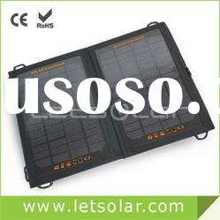 3W foldable portable solar pack for all smart phone