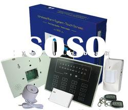 433MHz gsm security home alarm system with easy operate