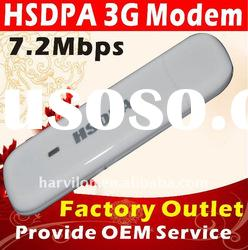 7.2mbps GSM 3G Wireless HSDPA USB SIM Card Modem