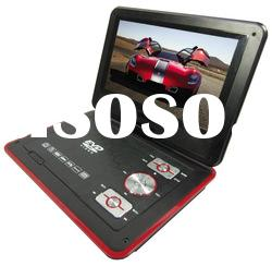 9 inch portable car DVD player with USB,GAME,COPY,CARD READER,AV IN&OUT KSD-938(16:9)