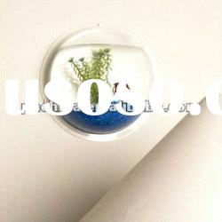 AFT-002 Wall Mounted Transparent Round Acrylic Fish Tank,Acrylic aquarium Fish Tank