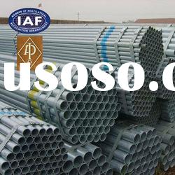 ASTM A53 hot dip galvanized steel pipe for construction