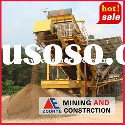 Aggregate Mobile Stone Crusher/Construction waste crushing plant