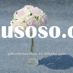 Artificial Floral Bridal Foam Rose Flower Ball,Artificial Foam Flower for Wedding Decoration