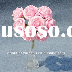 Artificial Making Foam Rose Flower Craft,Artificial Foam Flower for Wedding Decoration