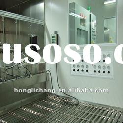 Automatic UV Paint Shop Painting Line Spray Booth
