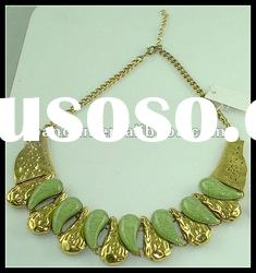 Best quality Fashion diamond alloy necklace 2012