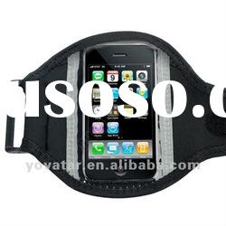 Black Gym Running sport armband Case for iPhone 4 4S 3G 3GS iPod touch 4th