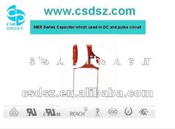 CSD-MER(CL21 Capacitor ) Metazllied Polyester Film capacitor 100V