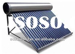Colour Steel Compact Pressurized Solar Water Heater With Heat Pipe