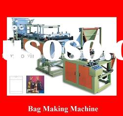Computer control ribbon-throught garbage bag making machine with good quality