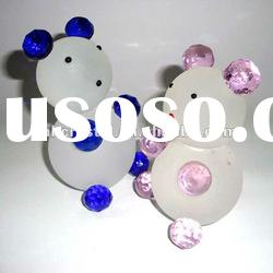 Crystal frosted Teddy Bear Animal MH-D0272