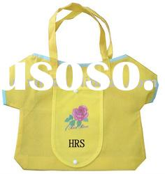 Cute clothes style foldable shopping bag