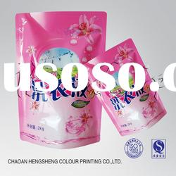 Detergent Packaging Pouch For Liquid Detergent