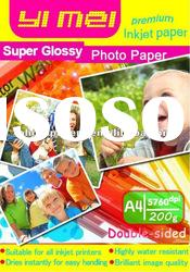 Double face A4 200g High Glossy Photo Paper