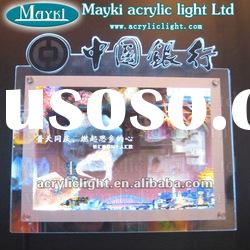 ES-36 Acrylic LED advertising sign
