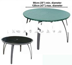 FC-168 4-6 seater round table top cover,Patio furniture cover, table cover