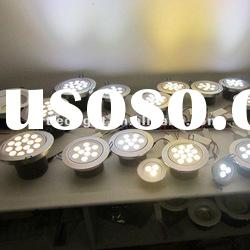 Factory indoor round high power 9W led downlight dimmable