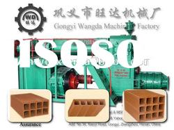 Full-automatic Clay Brick making machine named JZK 50 double stage vacuum extruder
