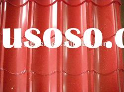 Galvanized sheet, corrugated steel sheet