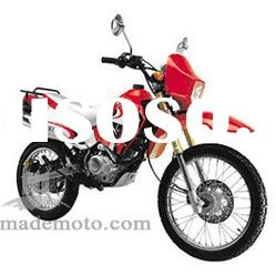 Gas-Powered 200CC Dirt Bike with Spoke Wheel Rim