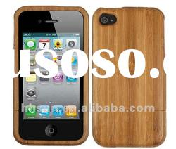 Genuine Natural Wood Bamboo Case for iPhone 4S 4 4G