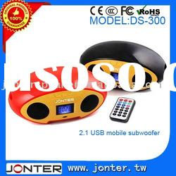 Great Bass Mobile Speakers Box with Remote Control