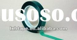 Green Polyester Masking Tape for Anodizing E-coating