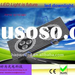 High Quality 2*3*1W led ceiling downlight Rectangle 6W