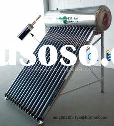 Integrated Pressurized Solar Hot Water Heating System