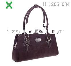 Leather handbags, lady fashion bag street handbags,make in China-1206034