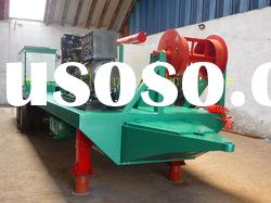 M span curving roof construction machinery Arch roof building roll forming machine