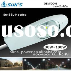 Maintenance-free High Power Solar LED Street Light 30-120W