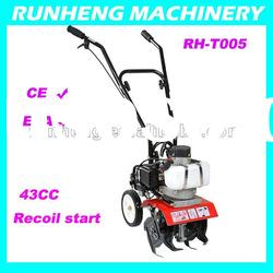 Mini tiller 1.2HP with CE approval,High quality power Tiller (RH-T005)