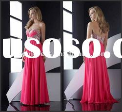 Modern,Fashion, Beaded,Formal Evening Dress Prom Gown P-ED-470