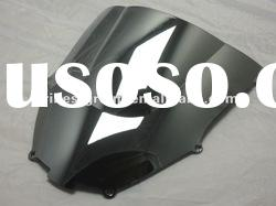 Motorcycle Windshield Wind shield windscreen wind screen for ZX9R 00-01 chrome silver color