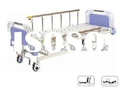 Movable full-fowler medical hospital bed