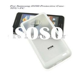 NEW Latest PU+PC For Samsung i9100 Mobile Phone Protective Cases