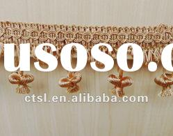POLYESTER CHAINETTE TASSEL FRINGE FOR DECORATION CURTAIN ACCESSORY